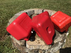 Gas Cans. Two 2 gal cans and one 1 gal can for Sale in Apex, NC