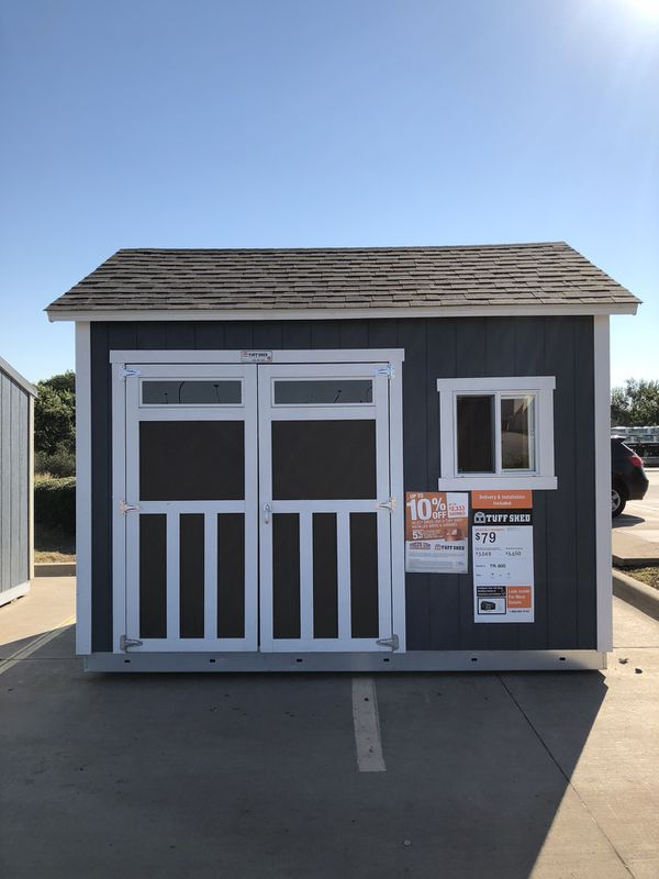 Tuff Shed 10x12 TR800 Display  Skillman Home Depot  for Sale in Dallas, TX  - OfferUp