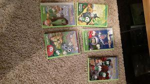 Photo Veggie Tales DVDS.