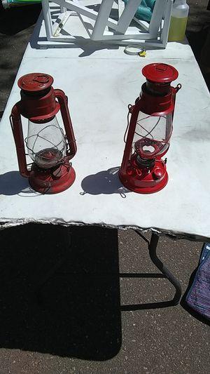 2 kerosene camping lanterns for Sale in San Diego, CA