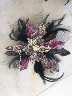 Decorations. Party. Feather. Pearl. Paper pinwheels Thumbnail
