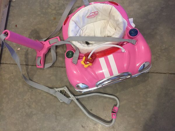 b7bddba80e8e Evenflo pink car door jumper w lights   music for Sale in Tucson
