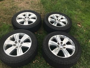 Set of 4 F150 Platinum Rims on Hankook Tires for Sale in Columbia, MD