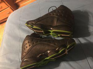 Jordan black n green 13s for Sale in Germantown, MD