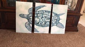 Acrylic painting of turtle brand new for Sale in Orlando, FL