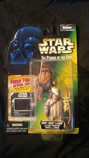Star Wars Action Figure - Ewoks - Wicket & Logray for Sale in Salt Lake City, UT