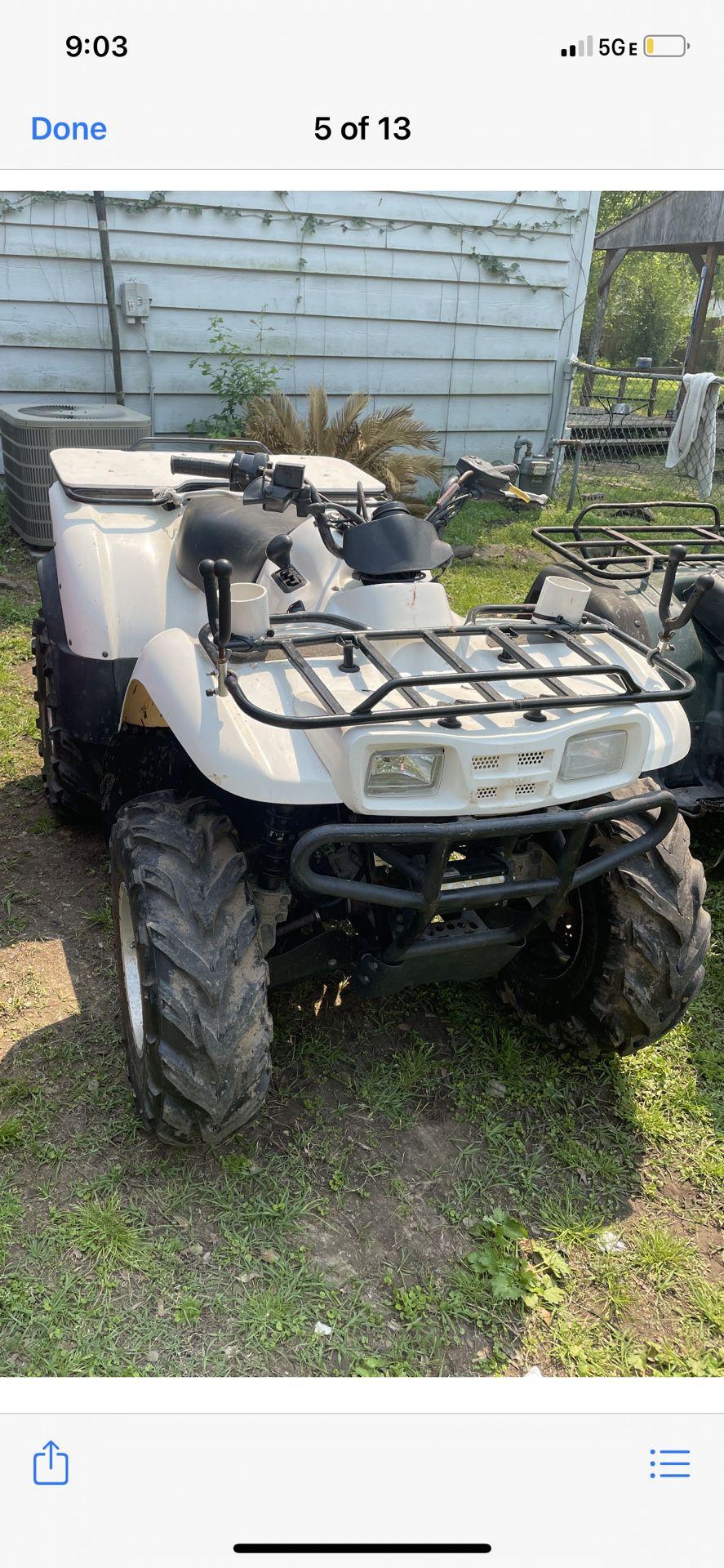 2010 Rzr Ranger 800 And 2008 Kawasaki 360 4x4