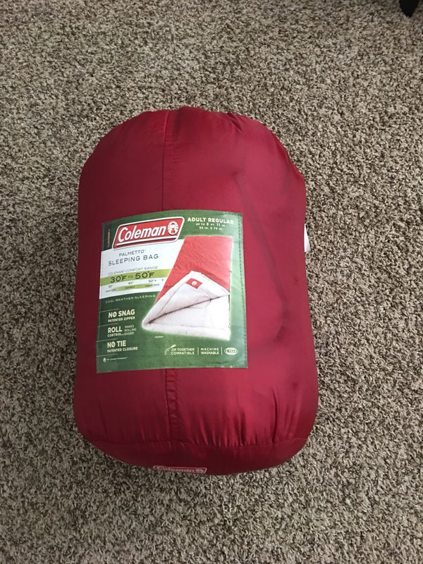 Coleman Palmetto Cool Weather Sleeping Bag For In