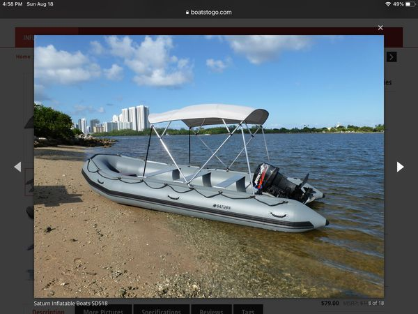 New and Used Inflatable boats for Sale in Opa-locka, FL