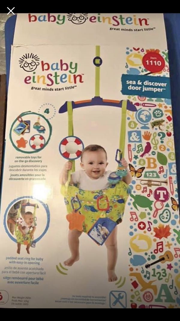 bafb5404f Baby Einstein Sea   Discover Door Jumper for Sale in St. Louis