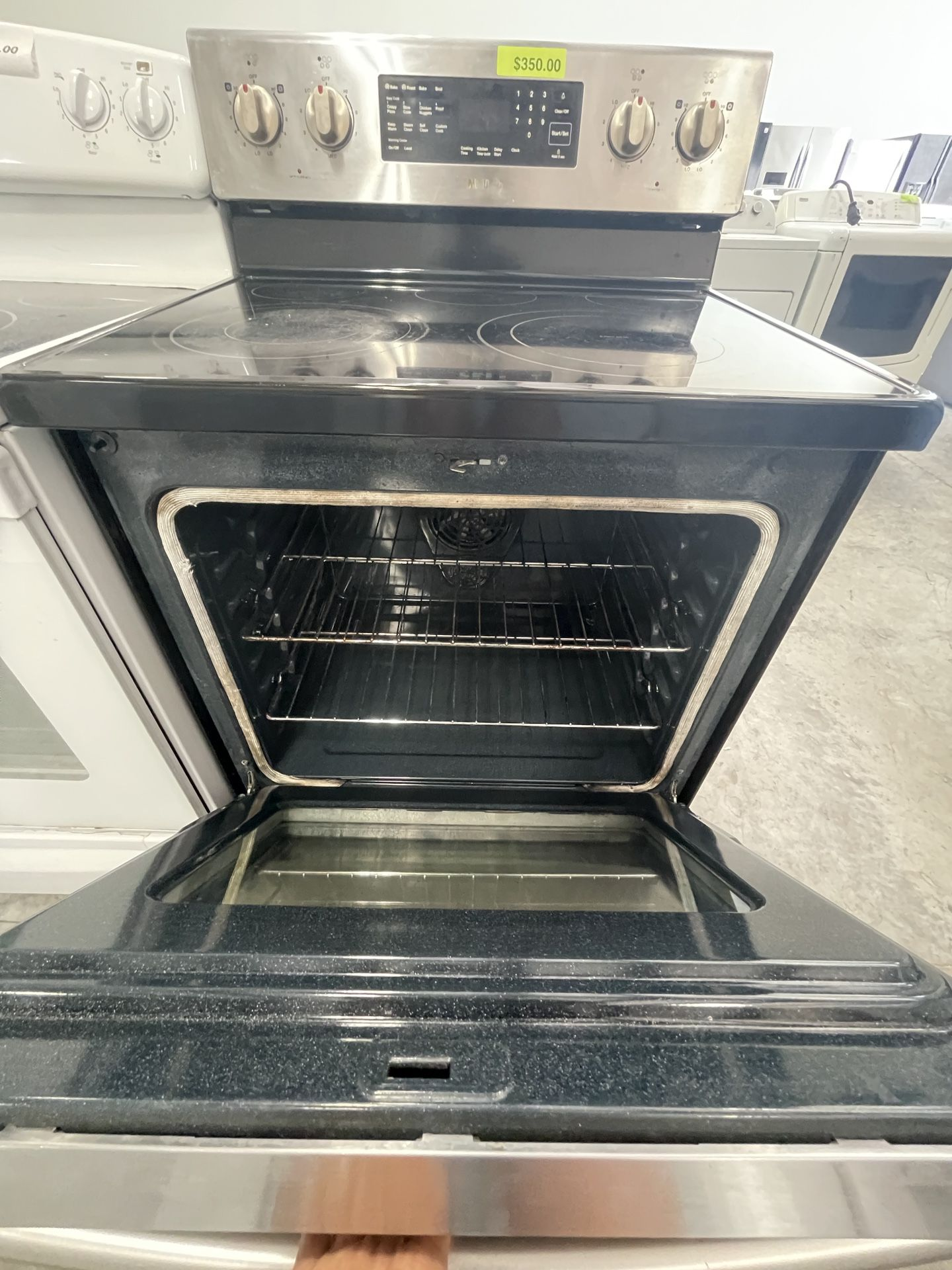 Samsung Electric Stove Stainless Steel Available NOWWWWW