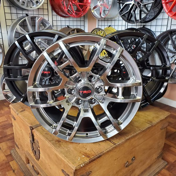 20x9 Toyota Trd Style Wheels New In Boxes 6 Lug 6x139.7