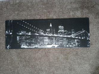 NIGHTLIFE CITY Wall Art $18 Thumbnail