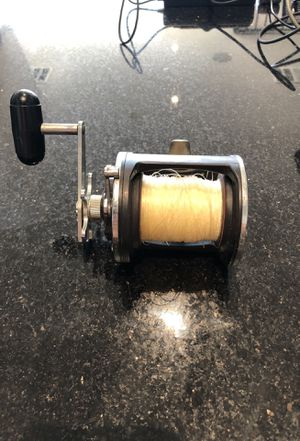 Daiwa SEALINE 50H fishing reel for Sale in Marina del Rey, CA