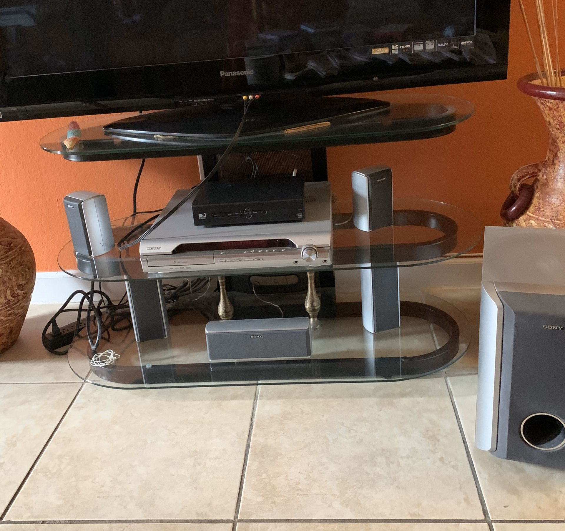 5 disc 5 speakers home system