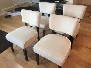 Beautiful modern dining chair for Sale in Manassas, VA