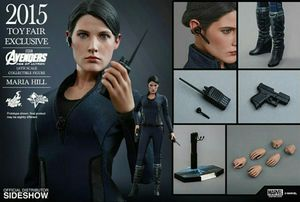 Hot Toys Marvel Avengers Maria Hill Shield 1/6 figure statue for Sale in South Gate, CA