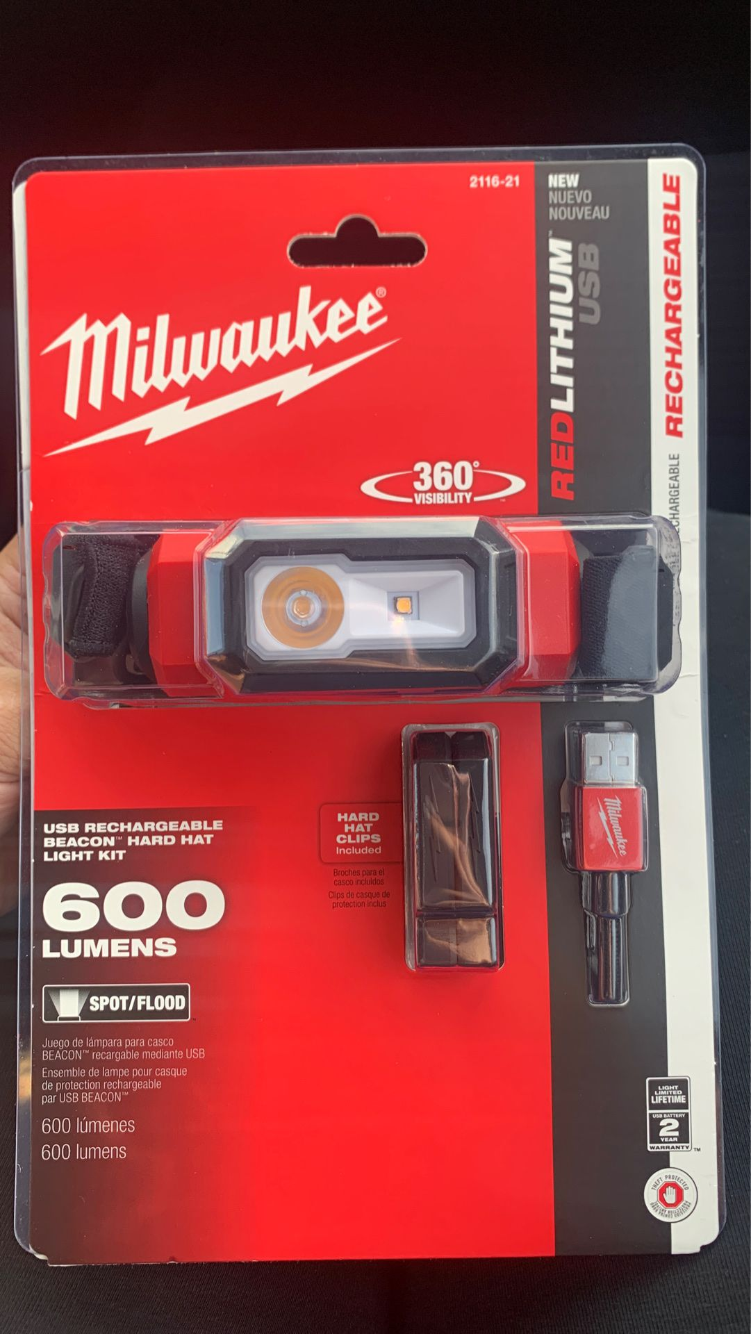 Milwaukee flashlights