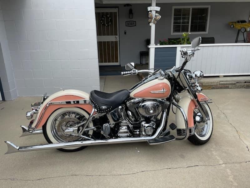 Photo 2002 Harley Davidson Softail Heritage