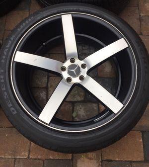 rims 5x112 size 22 rines 22 wheels for Sale in Manassas, VA
