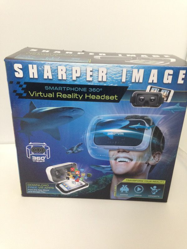 Sharper Image Virtual Reality Headset For Sale In Ashburn Va Offerup