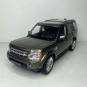 Photo NEW Large Land Rover Discovery SUV Car Toy Diecast Metal Model Scale 1/24 1:24 124 Range