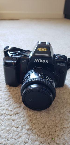 Nikon film camera F801 for Sale in Clarksburg, MD