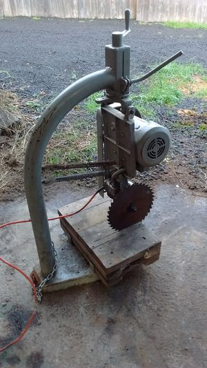 Swiveling industrial chop/miter saw for Sale in Portland, OR