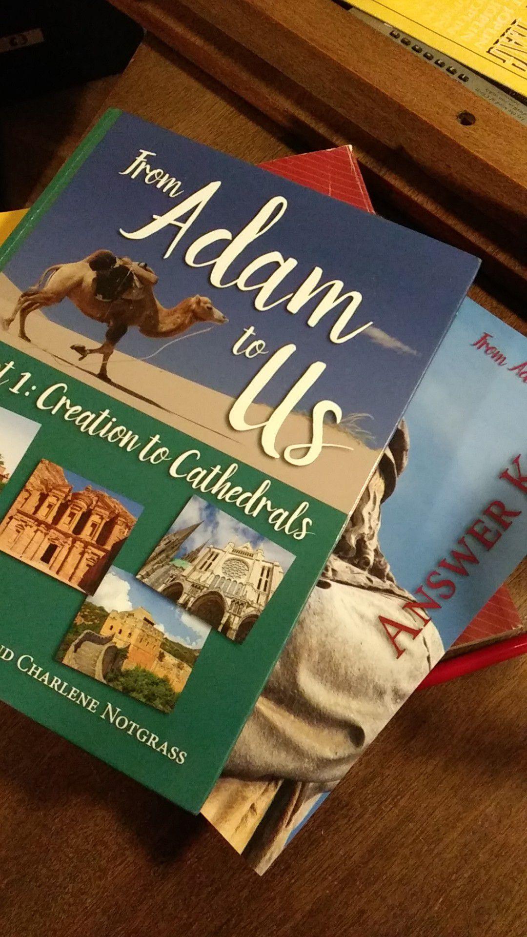 Home School Notgrass History books