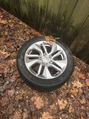 Brand new Honda rims and tires for 250 $ all 4 for Sale in Atlanta, GA