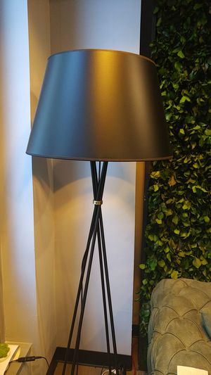 Floor lamp black for Sale in Washington, DC