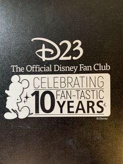 Disney D23 2019 Fan Club 10 Pins Thumbnail