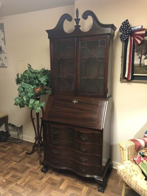 Priced down! Governor Winthrop Desk Secretary marked down for Sale in West McLean, VA