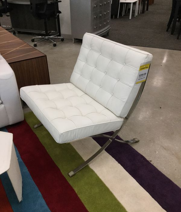 White Accent Chairs Used.Marco White Accent Chair For Sale In Pompano Beach Fl Offerup