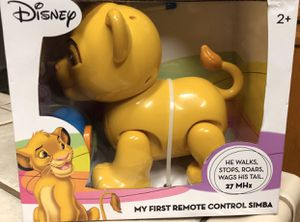 Photo Disney The Lion King My First Remote Control Simba Children's Toy (New in Box)