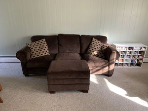 Photo Couch, Armchair, Ottoman with Storage