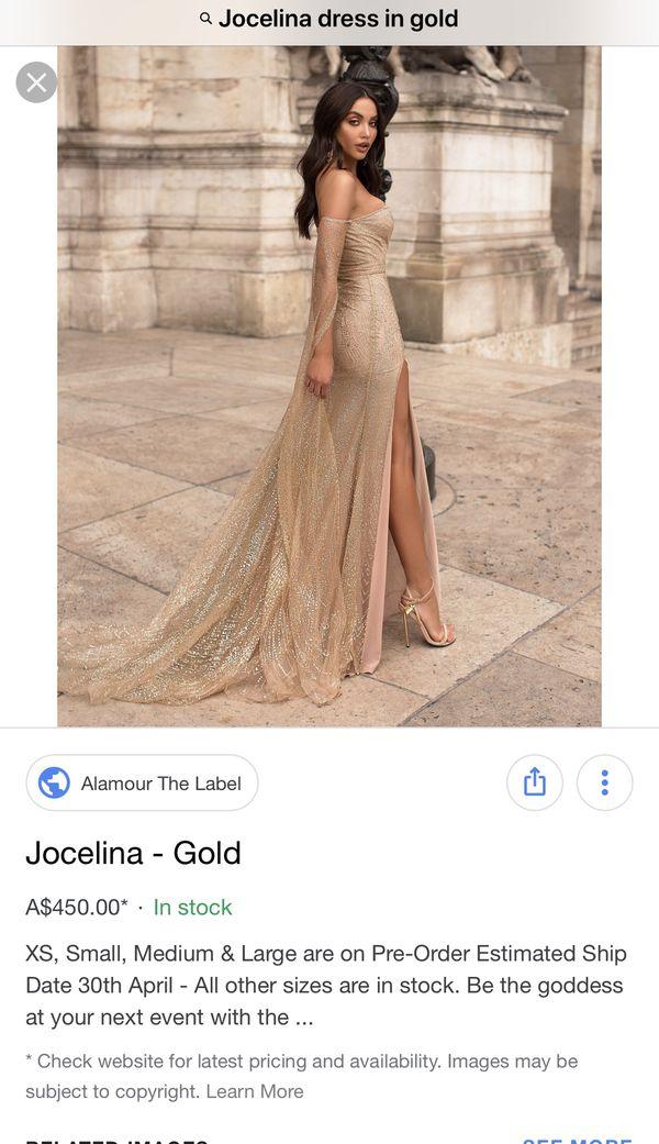 ea9e9ff31c8 New and Used Gold dress for Sale in Murfreesboro, TN - OfferUp