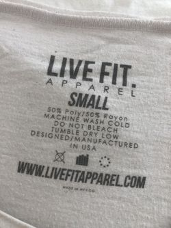 Livefit muscle tee Thumbnail