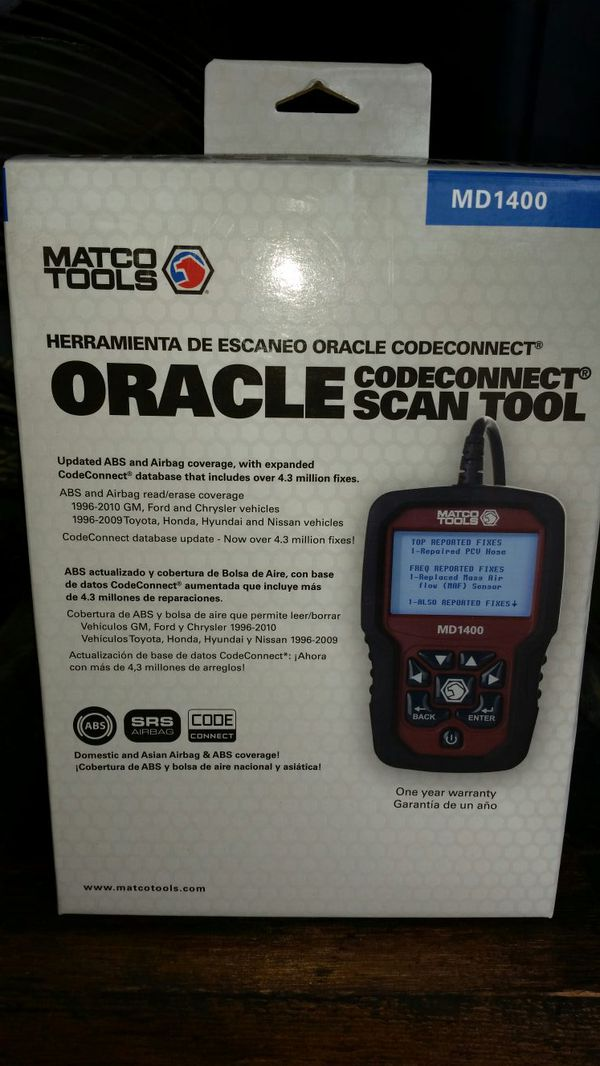 MATCO CODE CONNECT SCAN TOOL for Sale in Fort Worth, TX - OfferUp