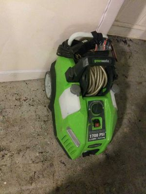 Greenworks 1700 PSI Pressure Washer for Sale in Columbia, MD
