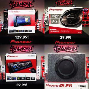 Pioneer car stereo / car audio deals ! for Sale in Mesa, AZ