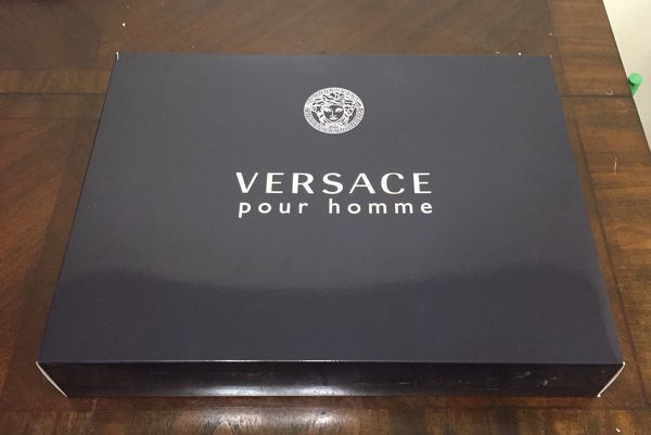 d6bb1ea1d2 Men s Versace Cologne 3.4oz Gift Set w Backpack NEW IN BOX for Sale ...