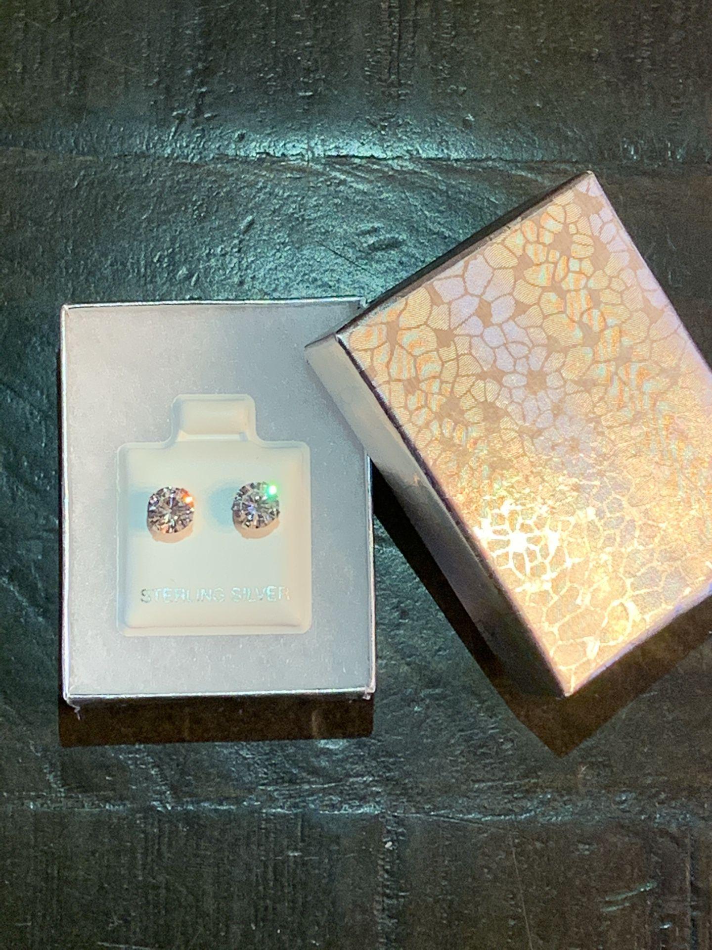 Beautiful Silver Sterling Earrings