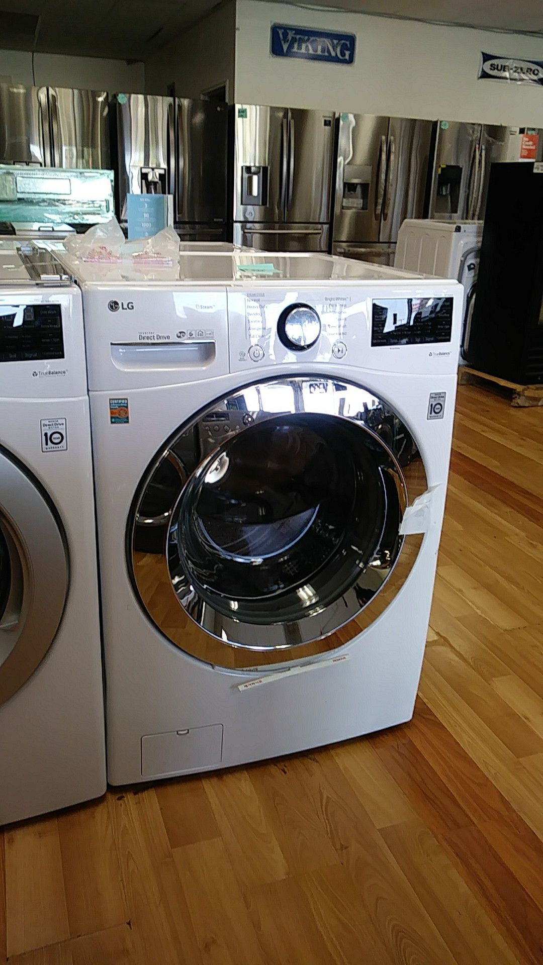 NEW LG STEAM WASHER ONLY