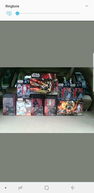 STAR WAR SET 10 TOYS FIGURES COLLECTIONS for Sale in Laytonsville, MD