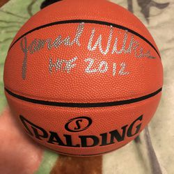 Jamaal Wilkes Autographed Ball Thumbnail