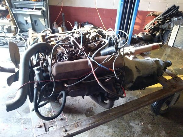 70 olsmobile rocket 350 motor and tranny for Sale in Kissimmee, FL - OfferUp