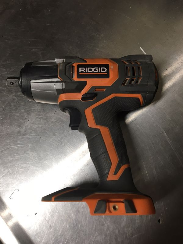 Ridgid 1 2 Electric Impact Wrench Great Condition