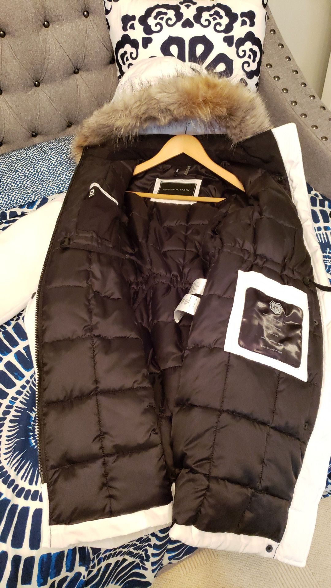 Andrew Marc Parka Small