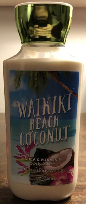 Waikiki Beach Coconut Lotion for Sale in Burke, VA
